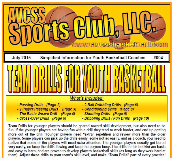 Team Drills for Youth Basketball